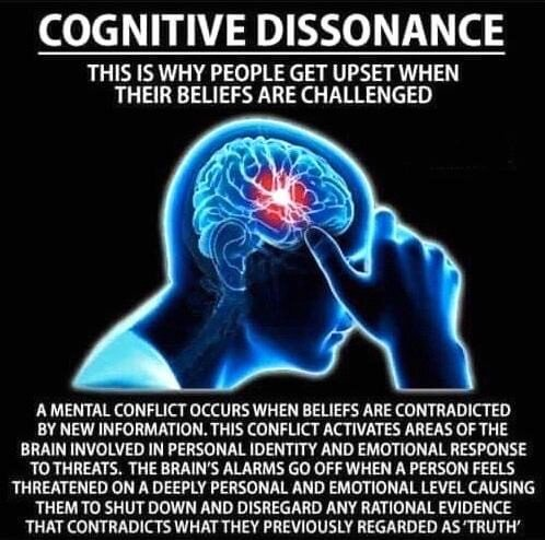 Cognitive Dissonance - Take the Red Pill Information