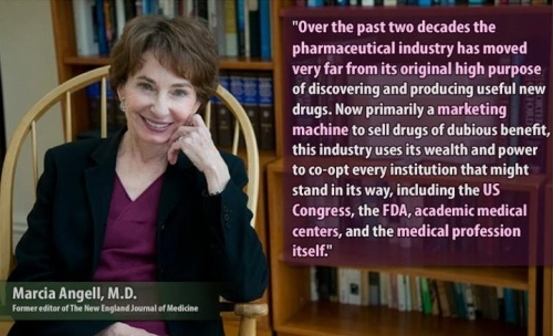 M.D. Marcia Angell - Take the Red Pill Information