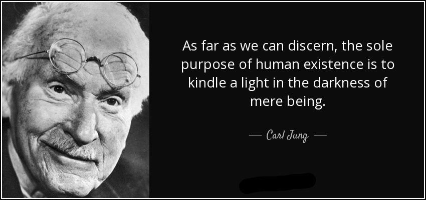 Carl Jung Quote on Humanity - Healing Humanity
