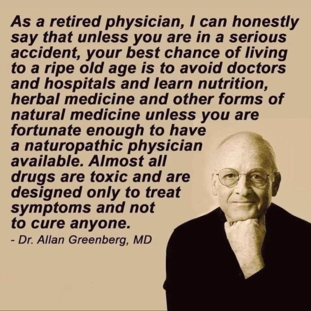 Dr Allan Greenberg most drugs are Toxic