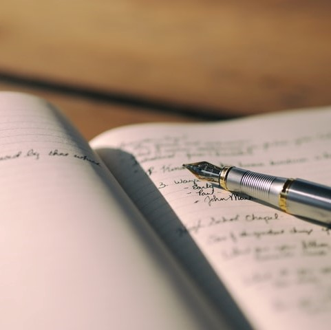 Keep A Writing Journal - 15 Natural Ways To Improve Your Health