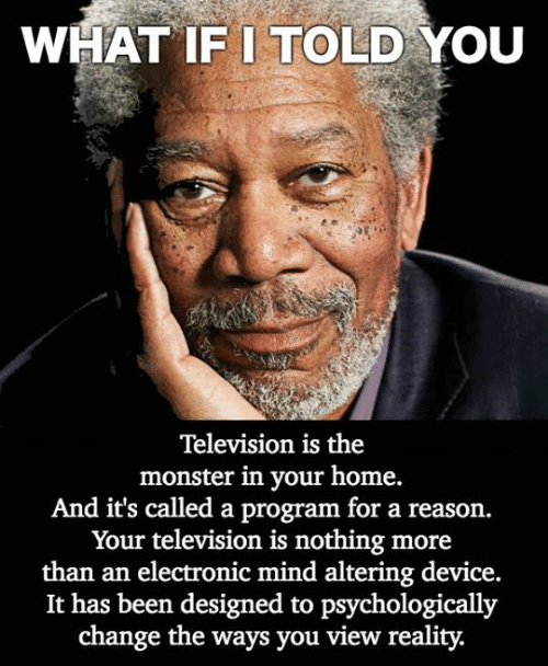 Television Programming You - Take the Red Pill Information