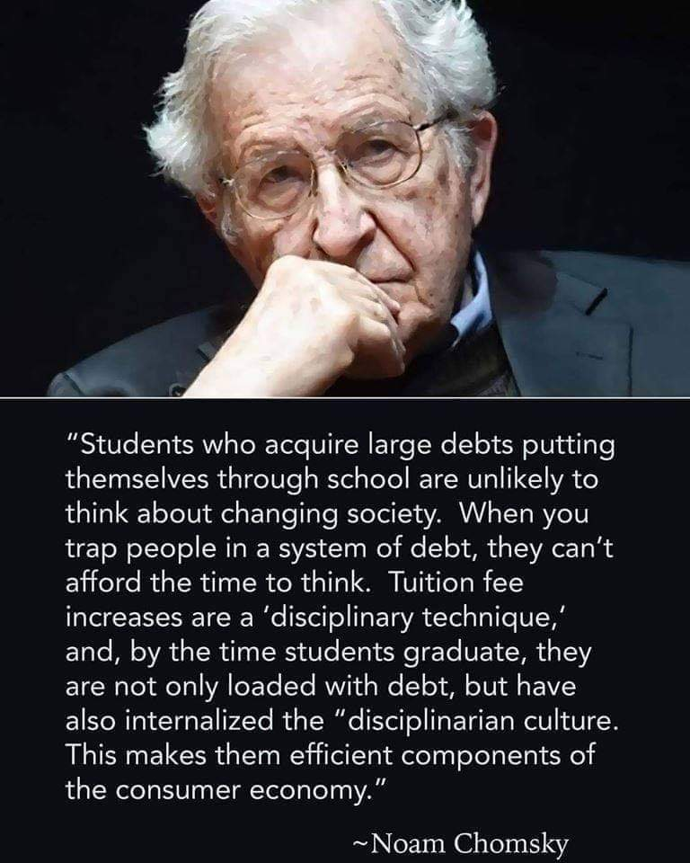 Noam Chomsky on the Consumer Economy